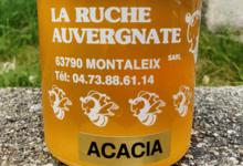La Ruche Auvergnate. Miel d'acacia
