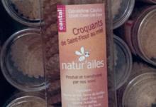 """miellerie """"Natur'Ailes"""". Croquant de Saint Flour au miel du cantal"""