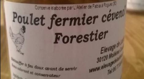 Elevage de Lasfons. poulets fermiers cévenol forestier