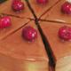 Les Demoiselles de Montpellier. Entremet chocolat et cerises