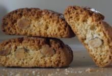 Biscuiterie Tamburini. Canistrelli au miel et amandes