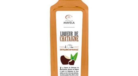Domaine Mavela. Liqueur de châtaigne Natura