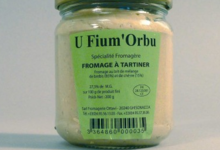 Fromagerie Ottavi. U Fium'Orbu crème de fromage piquante