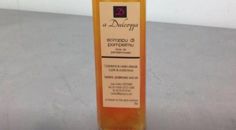 A Dulcezza. sirop de pamplemousse
