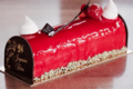 """Boulangerie """" Les Portes de la Balagne """". Bûche fraisier"""