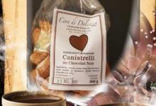 Canistrelli Core Di Dolcezza. Canistrelli au chocolat noir