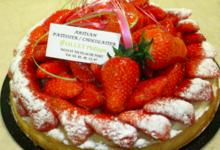 Pâtisserie Gaillet. Tarte fraise