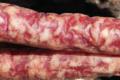Charcuterie Buresi. U Sapé Fà. Salcicceta (saucisse)