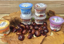 Yaourt Corsica. Yaourt au lait de brebis à la châtaigne