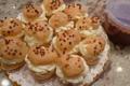 Pâtisserie Schwartz. Profiteroles
