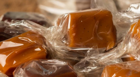 Confiserie Saint Sylvestre. Caramels