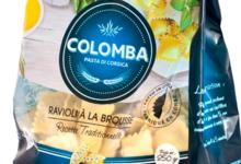 Colomba. Ravioli au brocciu (ou à la brousse)