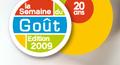 Logo de la Semaine du Goût 2009