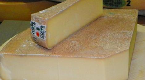 Coopérative fromagère de Salins. Comté fruité