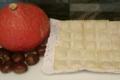 Pasta Di Palasca. Raviolis potimaron châtaigne