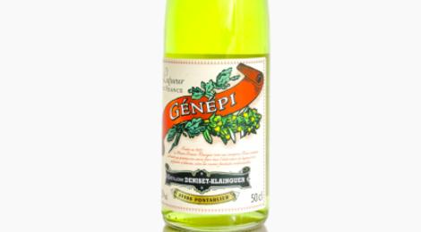 liqueur de génépi Deniset-Klainguer