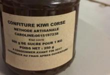Les douceurs de Caroline. Confiture de kiwi Corse