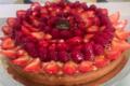 Maison Filidori. Tarte aux fraises et framboises