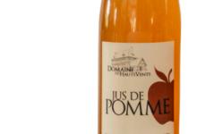 Domaine Des Hauts Vents. Jus de pomme