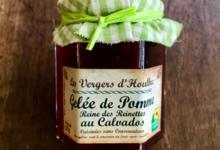 Les Vergers D'houlbec Cocherel. Gelée de Pomme Reine des Reinettes au Calvados.
