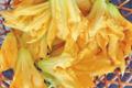 L'Ortulinu. Fleur de courgette