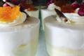 Pâtisserie St Michel. Verrines vanille clémentine