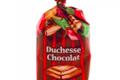 Barnier confiseur. Bonbons fourrés feuilletés Duchesse chocolat