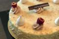 Pâtisserie Matteucci. rocher fraise chocolat