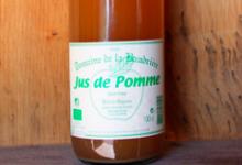 Domaine de La Baudrière. Jus de pomme pasteurisé