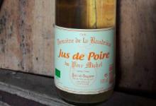 Domaine de La Baudrière. Jus de poire