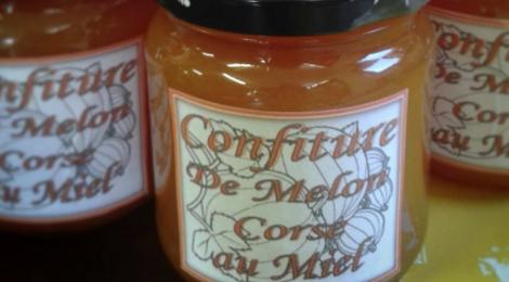 Miellerie Marchioni. Confiture de Melon Corse au miel