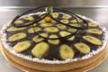Boulangerie Ventura Bastia. Salon de Thé. Tarte banane chocolat