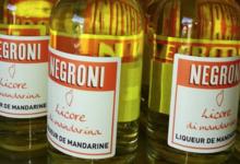 Fior' di Notte - Negroni. Liqueur de mandarine