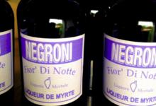 Fior' di Notte - Negroni. Liqueur de myrte