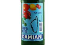 Maison Damiani. sirop de menthe