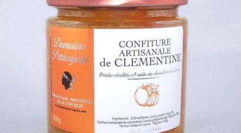 Domaine Petricajola. Confitures de Clémentines