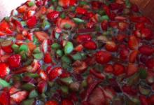 Miss rhubarbe. Confiture fraise rhubarbe