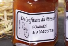 Le Pressoir D'or. Confiture de pomme et abricot