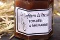 Le Pressoir D'or. Confiture de pomme et rhubarbe