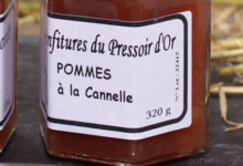 Le Pressoir D'or. Confiture de pomme à la cannelle