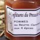 Le Pressoir D'or. Confiture de pomme beurre caramel aux 4 épices