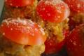 La Ferme Du Réel. Tomate farcie à la chair à saucisse de volaille