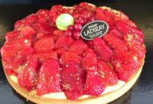 Maison Ladiray. Tarte aux fraises