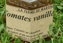 La Ferme de Martine. Tomates vanille