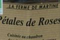 La Ferme de Martine. Pétales de rose
