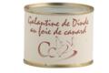 Foie gras Cassan. Galantine de dinde au foie de canard