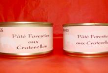 La Ferme Des Garennes. Pâté forestier aux craterelles