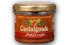 L'apéritif des fruits. Castaîgnade. Crème d'olive et châtaignes
