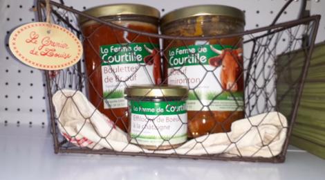 La Ferme De Courtille. boulettes de boeuf