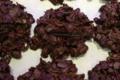 Chocolaterie Lamy. Roses des sables au chocolat noir